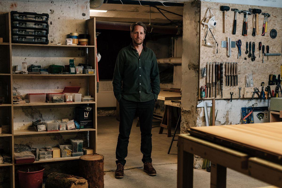 Arkitekt og partner Jørgen Tycho i Oslotre. Foto: Oslotre
