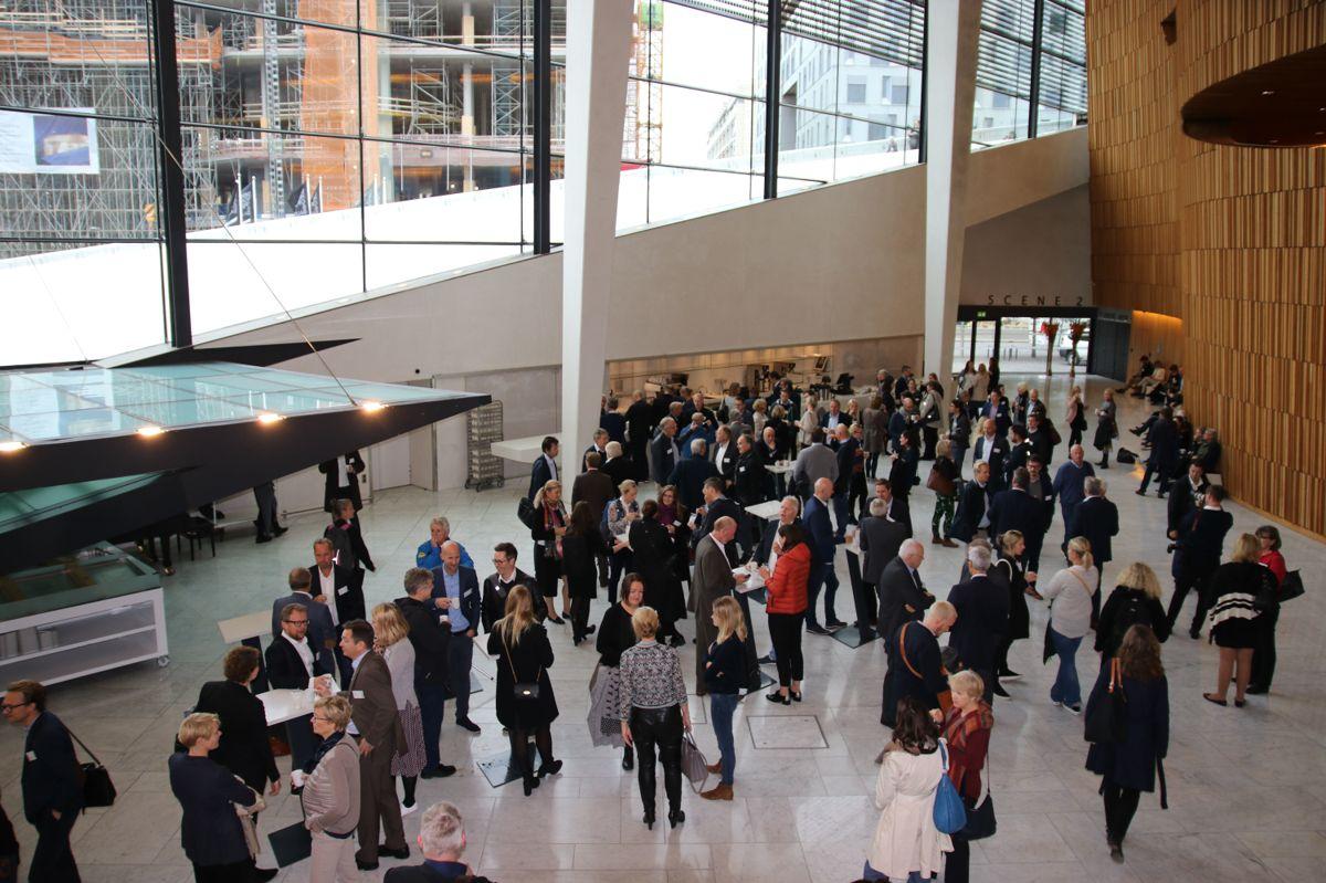 OBOS er også opptatt av at konferansen skal være en møteplass.