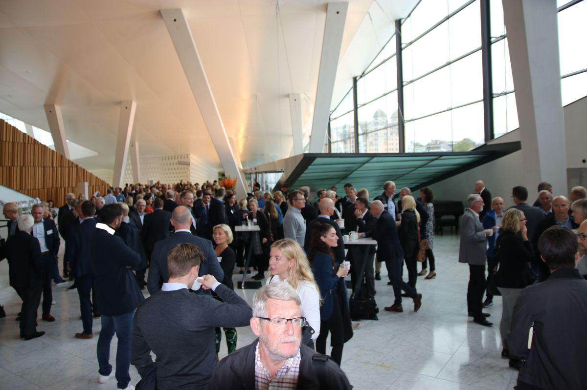Aktører fra hele næringen var samlet på konferansen.