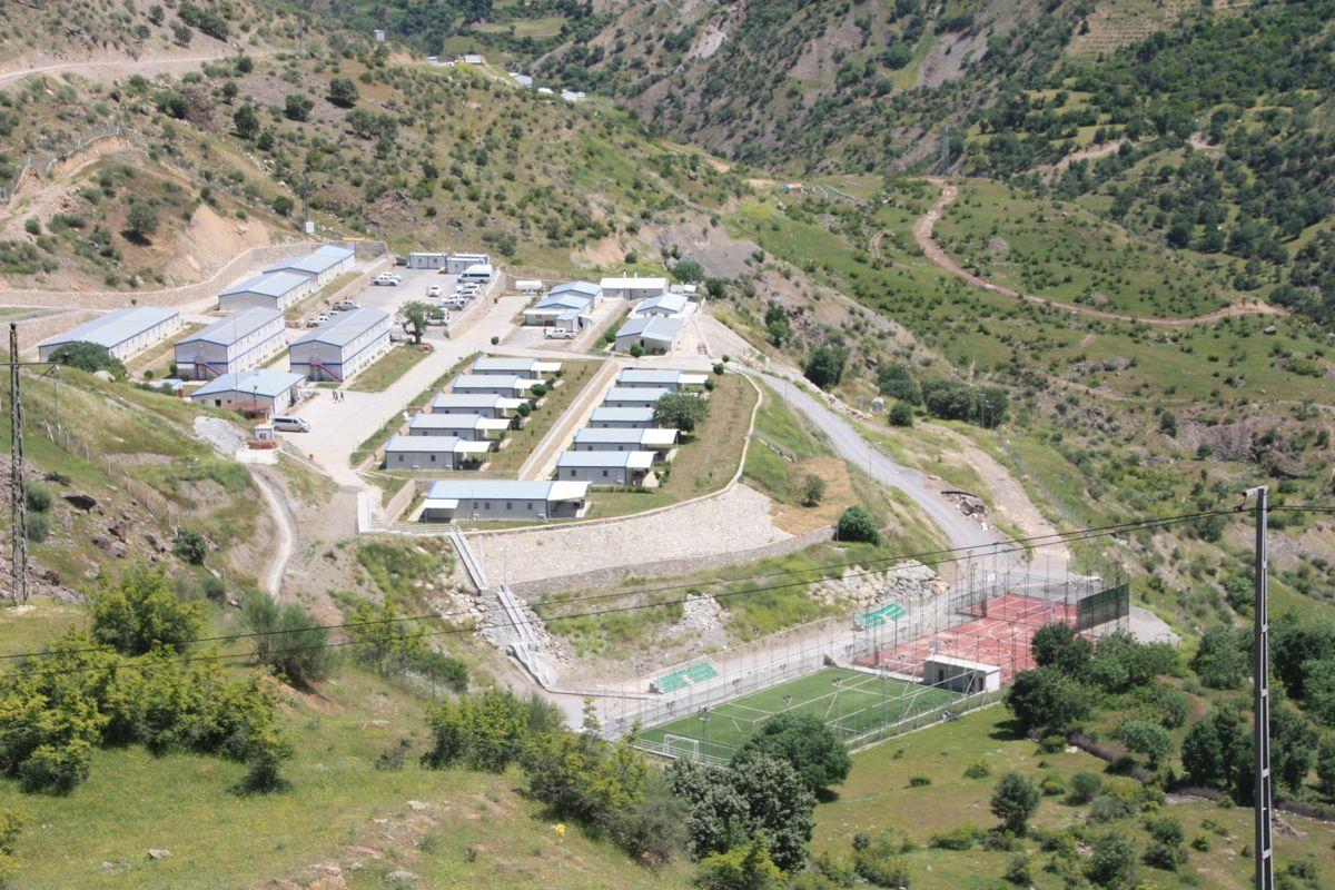 Statkraft-campen i Cetin. Foto: Statkraft