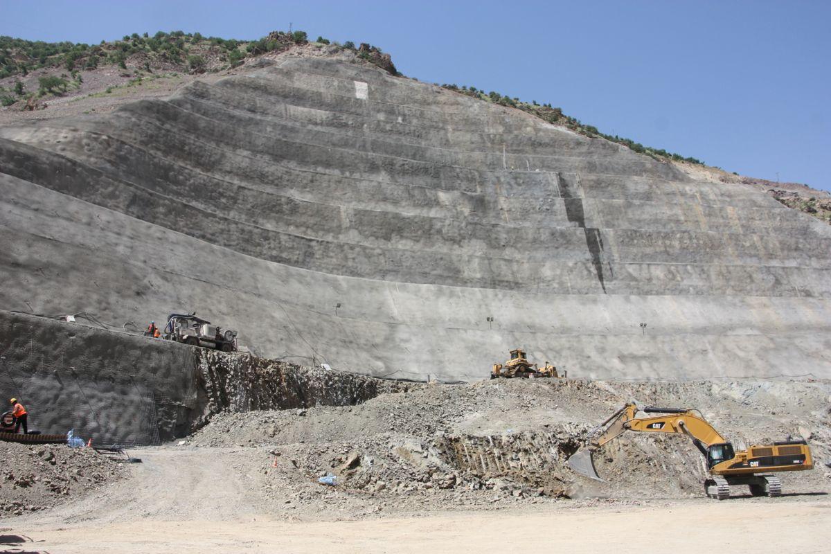Utgraving der kraftstasjonen skal ligge. Foto: Statkraft