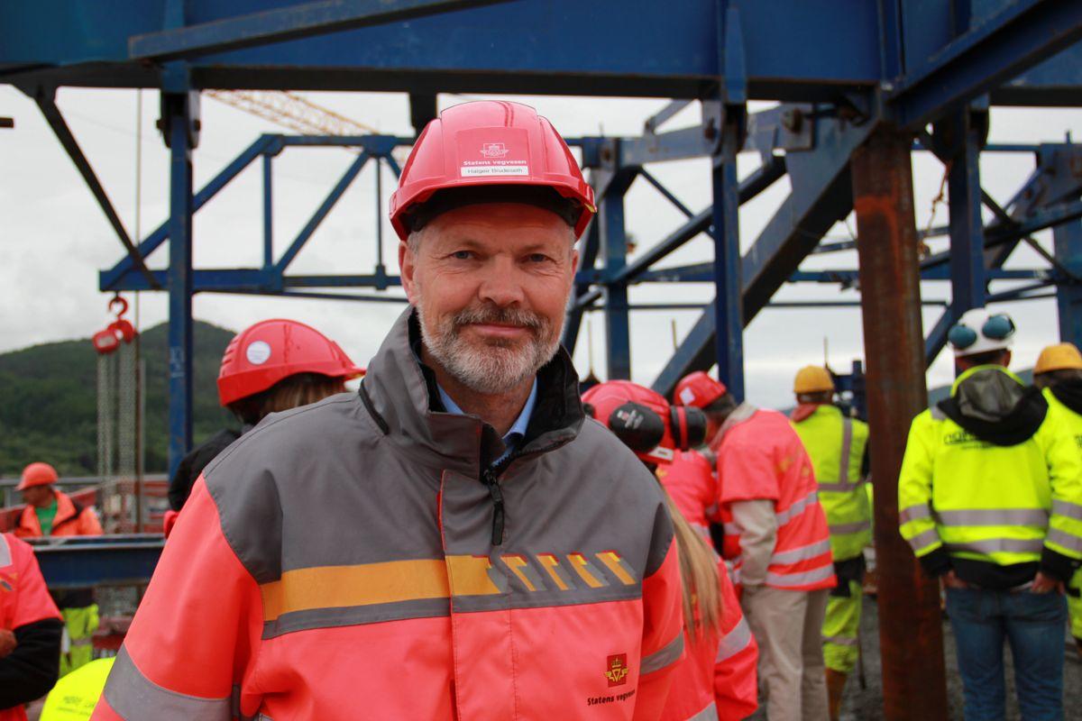 Prosjektleder Halgeir Brudeseth. Foto: Statens vegvesen