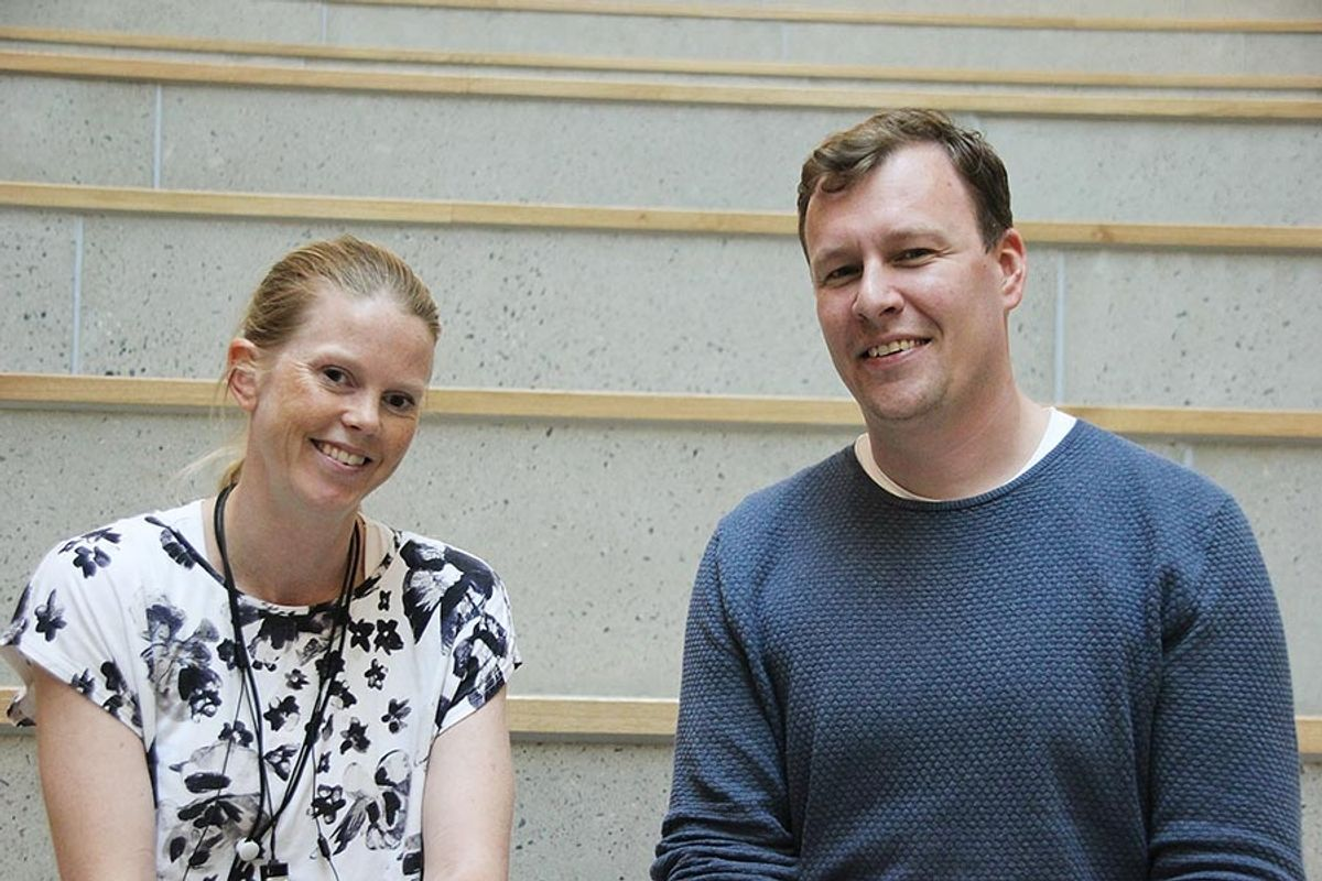 - Kvaliteten på Teglverket skole er blitt veldig bra og vi er svært godt fornøyd med resultatet, sier prosjektleder Martine Linnestad i Undervisningsbygg til entreprenør MT Højgaards prosjektleder Anders Feldbæk Kristensen.