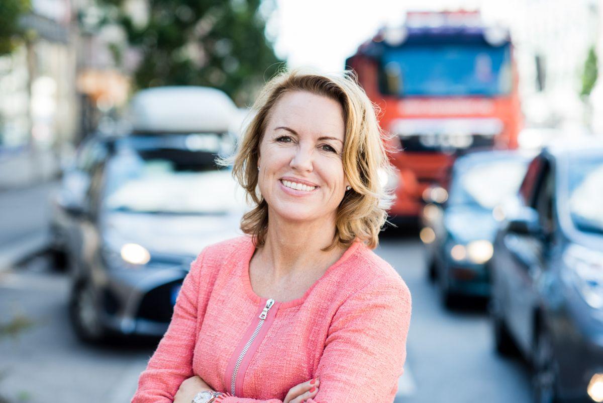 RIF-leder Liv Kari Skudal Hansteen. Foto: Nicolas Tourrenc