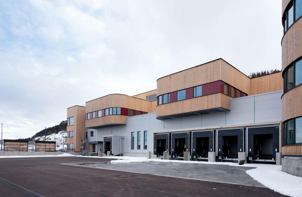 ASKO Oslofjord i Sande, 16.3.2021. Foto: Trond Joelson, Byggeindustrien