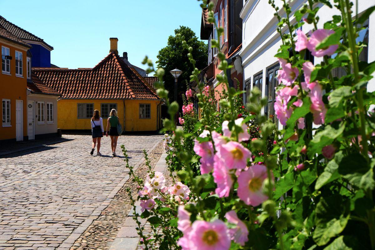 Odense, fødebyen til H.C. Andersen. Foto: Odense City Museums