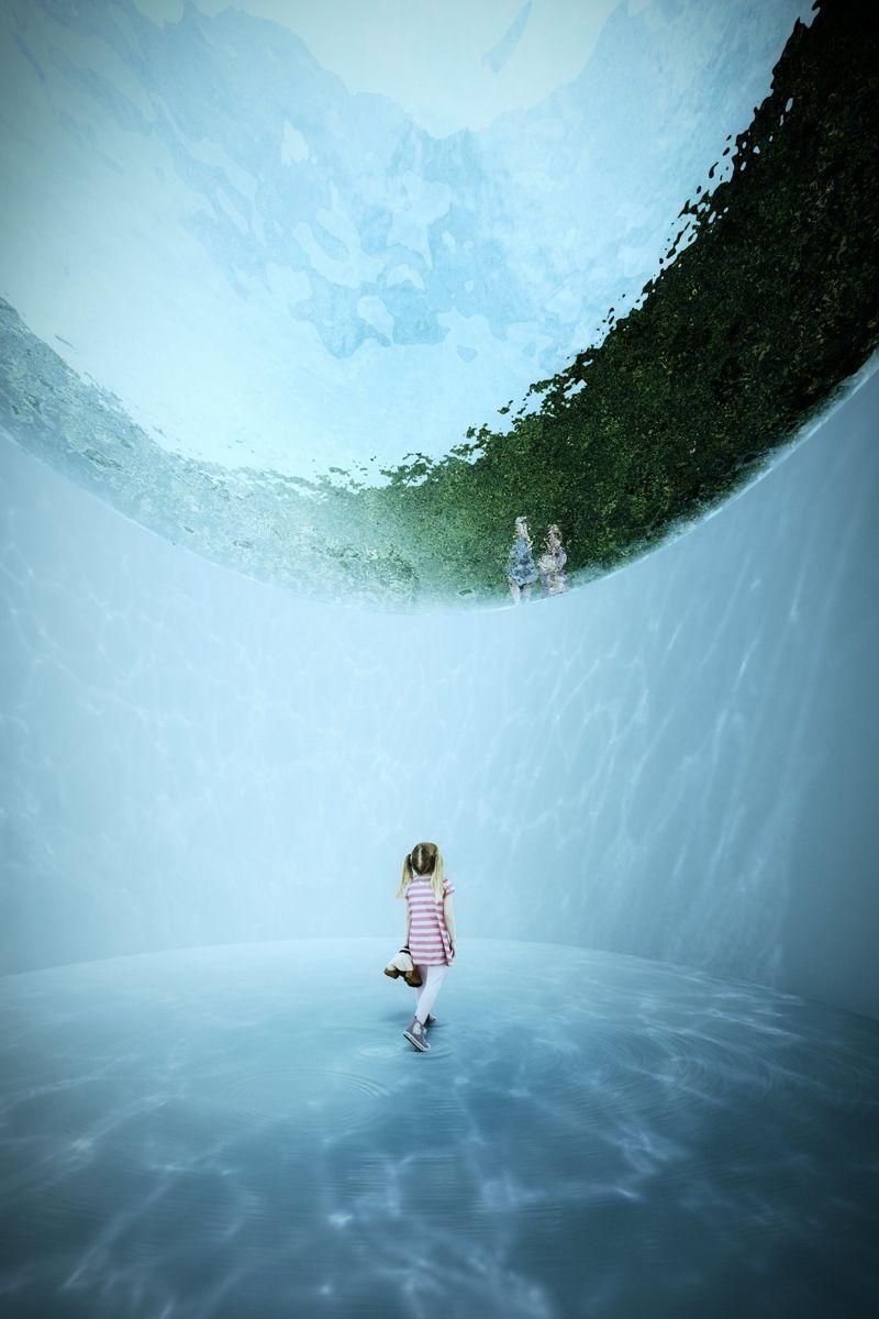 Illustrasjon: Kengo Kuma & Associates / Cornelius Vöge / MASU planning