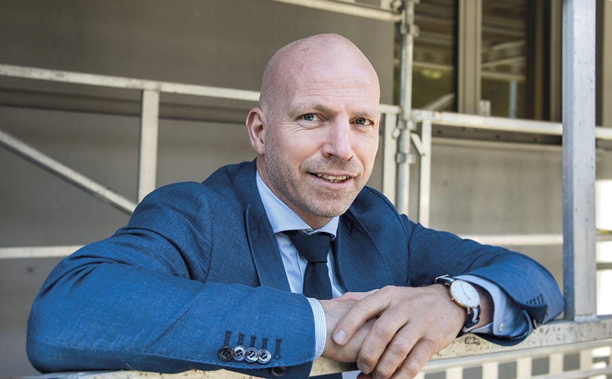 Gunnar Glavin Nybø, administrerende direktør i Bygg Reis Deg AS. Arkivfoto: Trond Joelson
