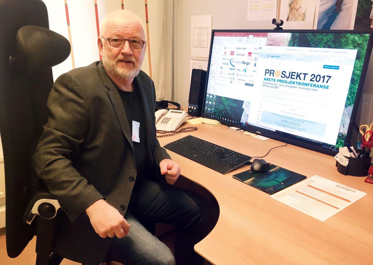 Daglig leder Stein Mjøen i Prosjekt Norge.Arkivfoto