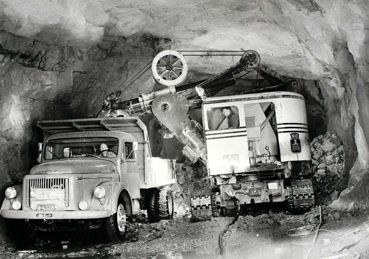 Dette bildet vant kategorien historisk klasse. Bildet er fra tilløpstunnelen Tokke 3 (Songa kraftverk) i regi av Statkraft. Foto: Statkraft