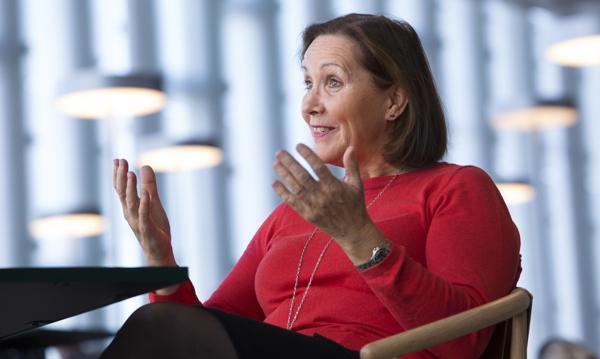 Konsernsjef Grethe Bergly er godt fornøyd med resultatet for 1. kvartal 2021. Foto Sverre Christian Jarild