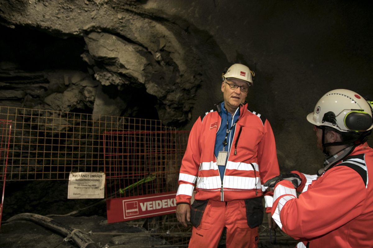 Per Brinck leder Veidekkes anleggsvirksomhet i Sverige.
