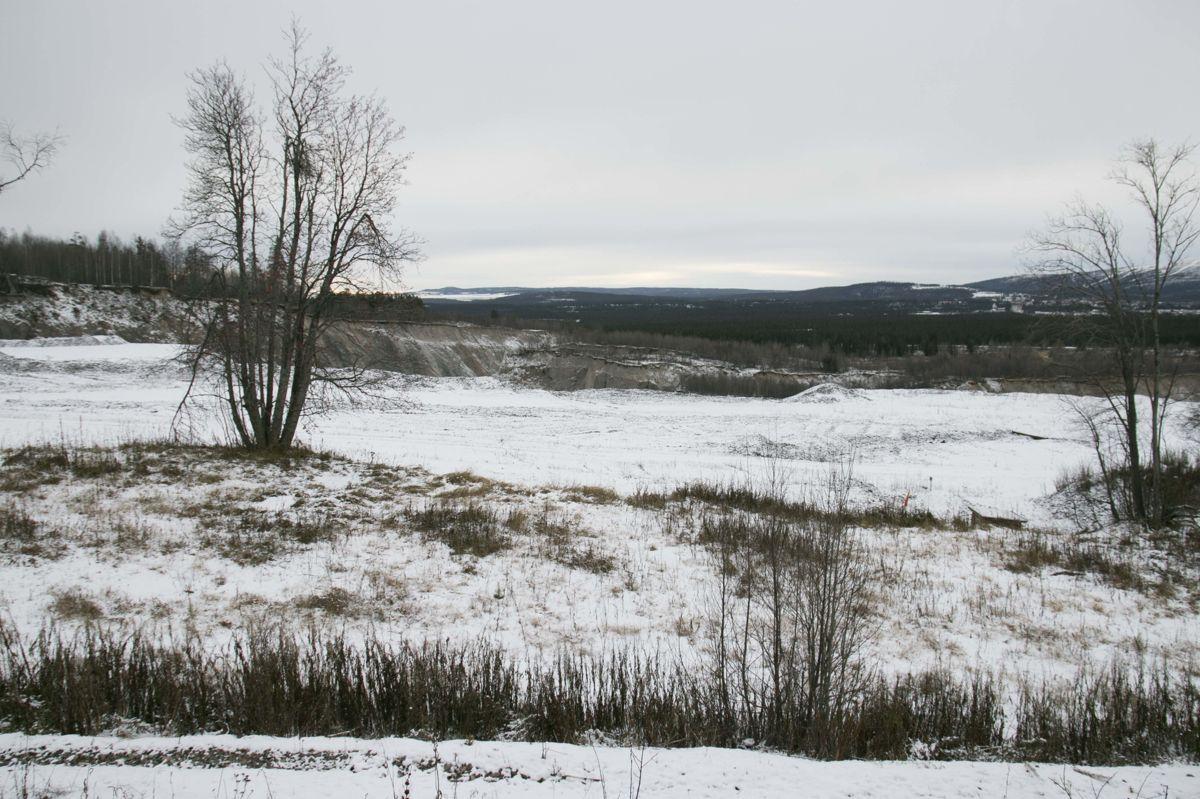 Kaptensgropen vokser kontinuerlig, og er årsaken til at deler av stedet Malmberget må flyttes.