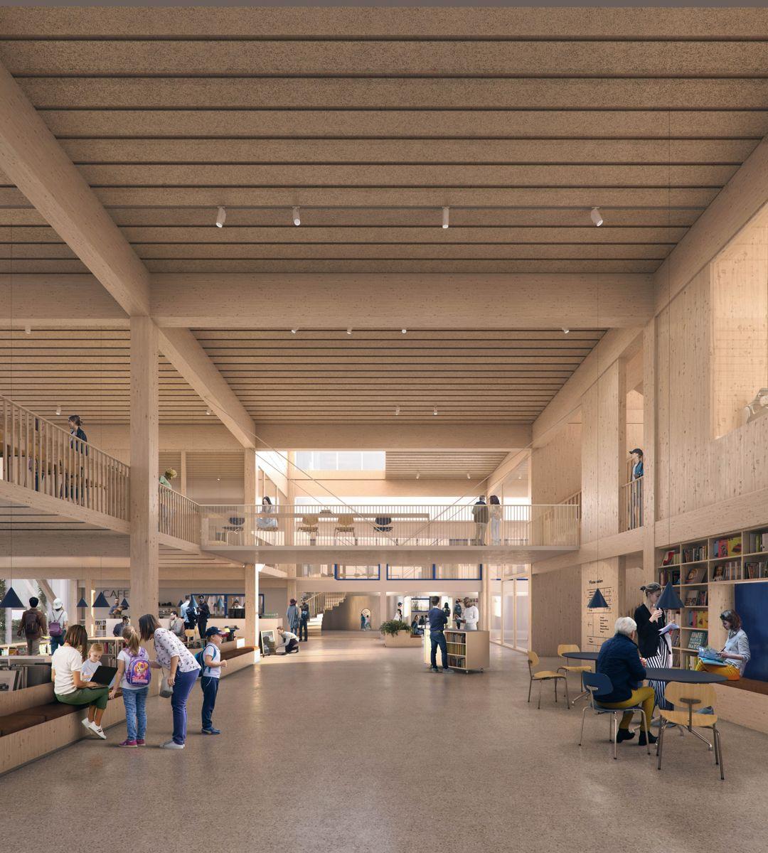 Ill. Rodeo arkitekter og Plus arkitektur