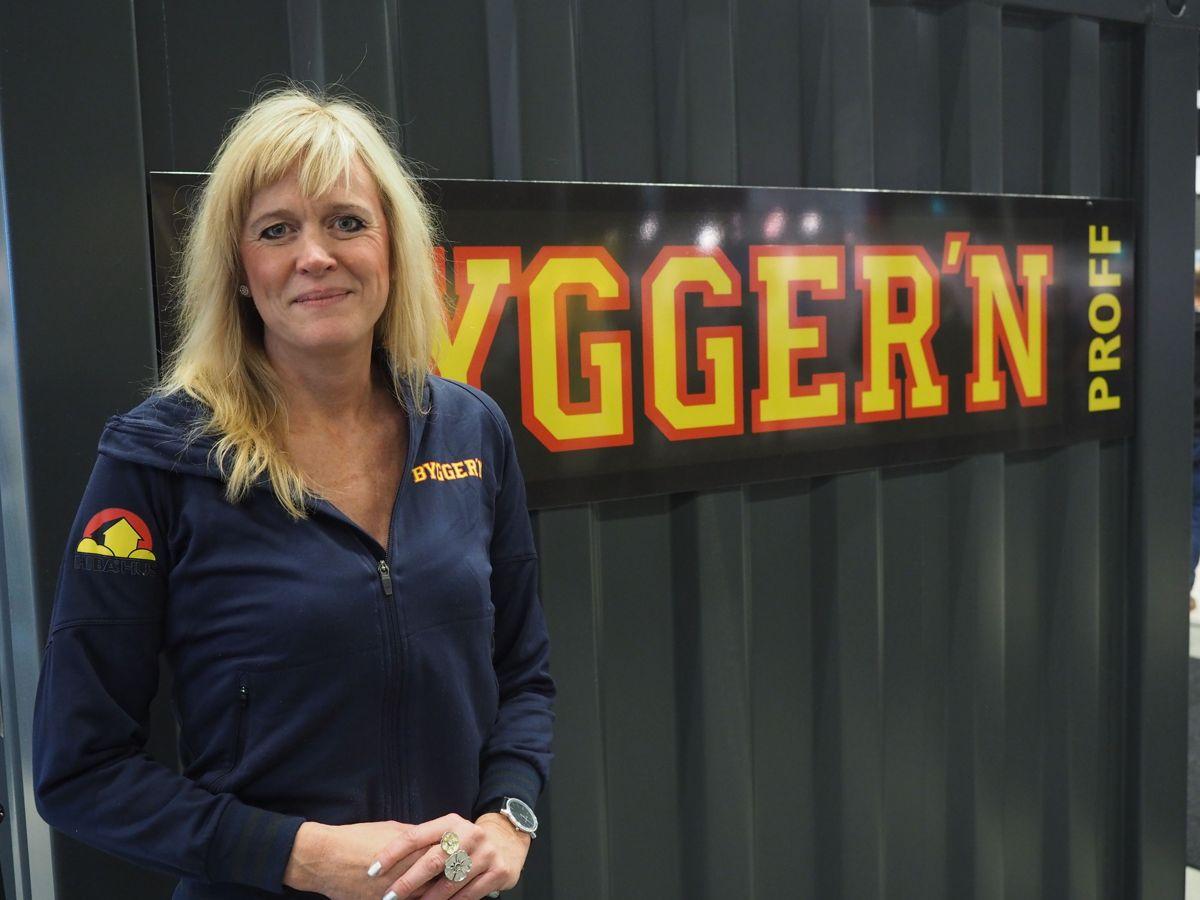 <p>Kjededirektør Christine Holm iBygger'n.</p>