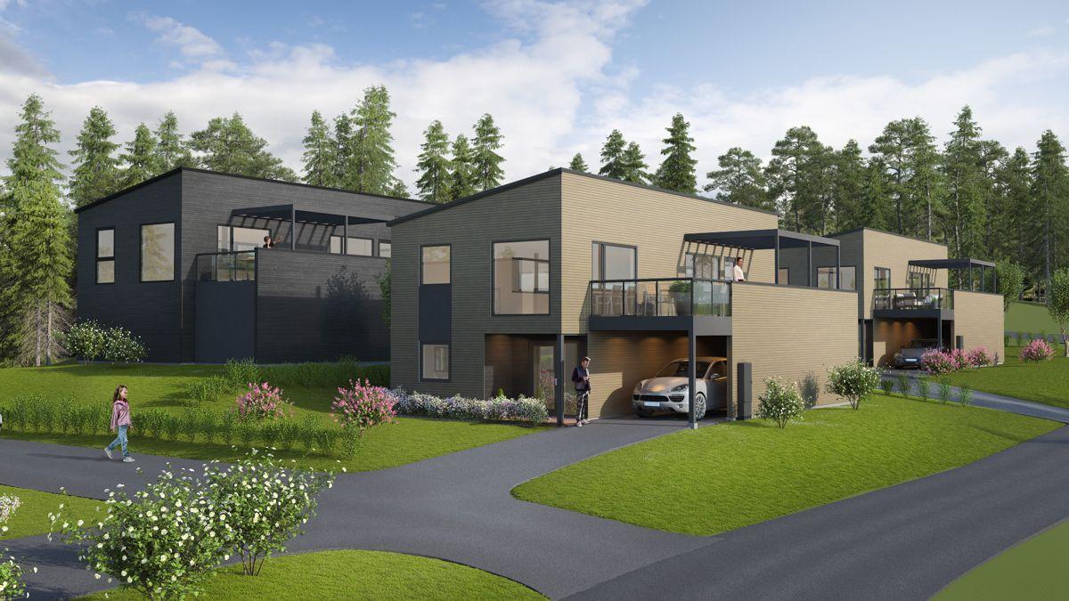 <p>LSE innebærer skal montere 21 boenheter for Norgeshus 3 Bygg Meste. Illustrasjon: Norgeshus 3 Bygg Meste</p>