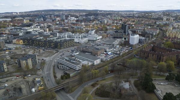 Her kommer NRKs nye hovedkontor. Foto: NRK