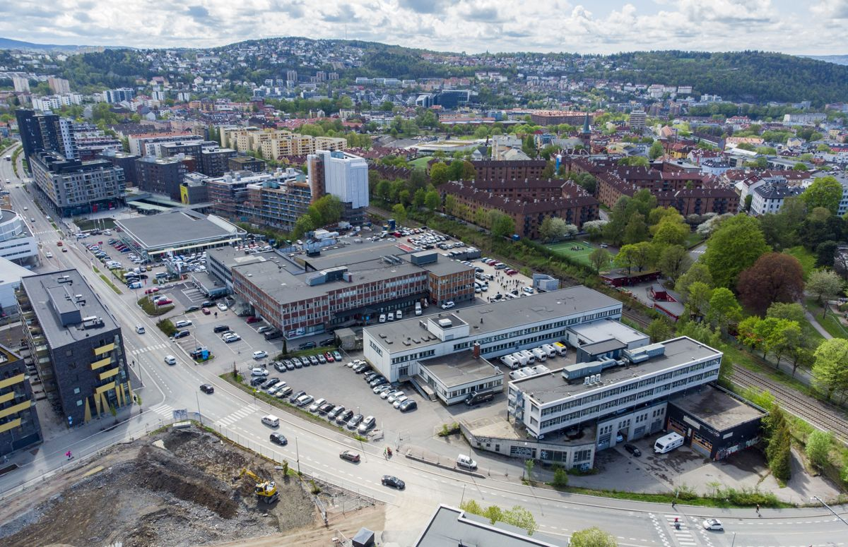 NRK skal flytte sitt hovedkontor lenger sørøst i Oslo, fra Marienlyst til Ensjø. Foto: Cornelius Poppe / NTB