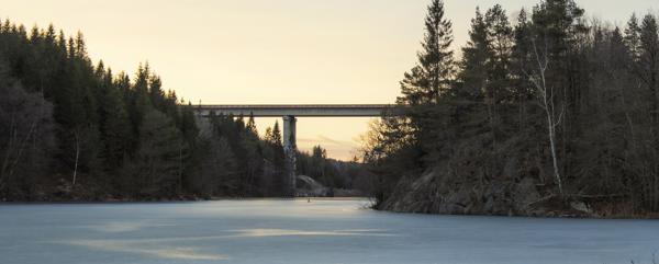 AF-prosjektet E39 Kristiansand vest - Mandal øst. Foto: Hans-Fredrik Asbjørnsen
