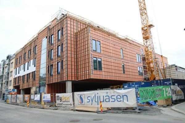 Studinen i Gjøvik er et av flere prosjekter som Syljuåsen holder på med om dagen. Prosjektet er midlertidig stengt på grunn av koronasmitte.