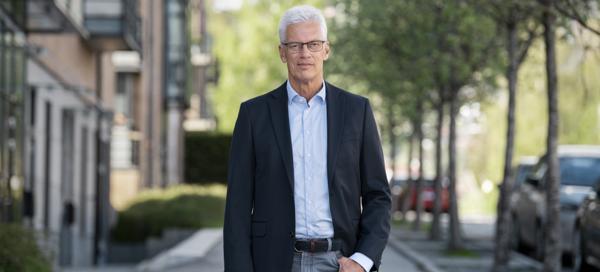 Styreleder Roar Engeland i OBOS. Foto: Hans Fredrik Asbjørnsen