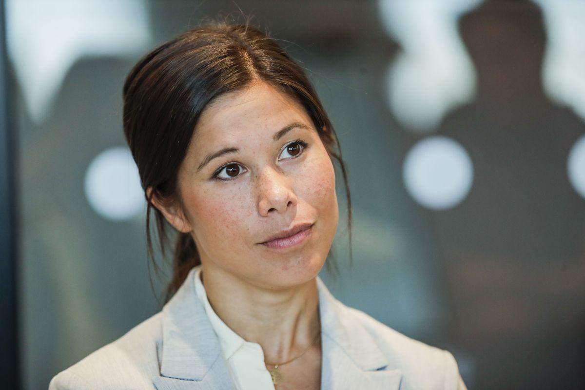 Samferdselsbyråd Lan Marie Berg risikerer å måtte gå av dersom det blir flertall for mistillitsforslaget fra Frp. Foto: Vidar Ruud / NTB