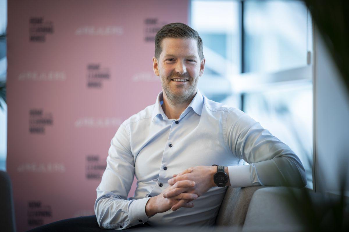 Jan Christian Ringwald er ansatt som finansdirektør i Rejlers Norge. Foto: Katrine Lunke/Apeland.