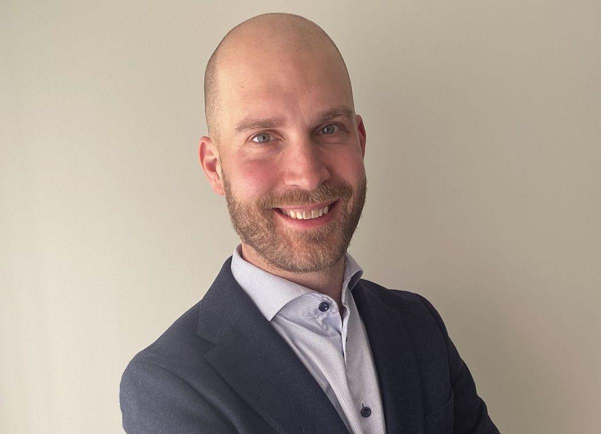Petter Hallerby er ansatt som ny IT-direktør i Moelven Industrier ASA. Foto: Moelven