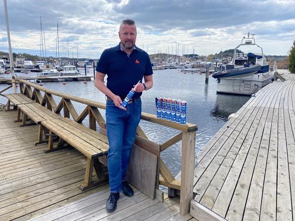 Eivind Handrum, teknisk produktsjef fug & lim i Sika Norge. Foto: Sika