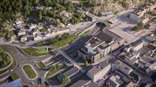 Med regjeringens forslag blir det blant annet anleggsstart på E18/E39 Gartnerløkka–Kolsdalen.