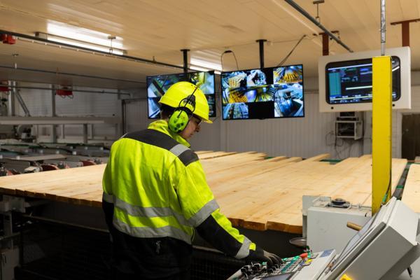 Fra Bergene Holms automatiseringsanlegg ved Bergene Holms anlegg i Larvik. Foto: Finn Erik Bjørnstad/Bergene Holm