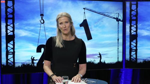 Administrerende direktør i EBA, Kari Sandberg, synes det er svært positivt at bedriftene i byggenæringen melder om at arbeidslivskriminalitet blir mer sjeldent. Arkivfoto