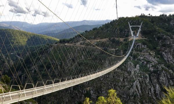 516 Arouca bridge i Portugal. Foto: Ponte516Arouca