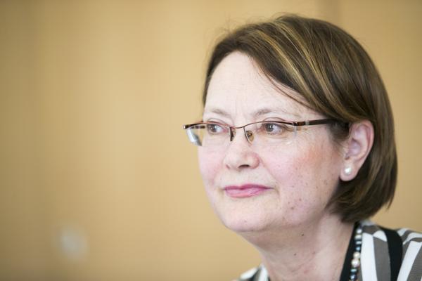 Bente Angell-Hansen er president i EØS-tilsynet Esa. Foto: Heiko Junge / NTB