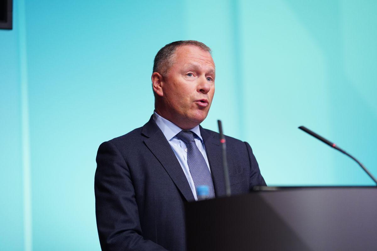 Oljefondssjef Nicolai Tangen tok over ledelsen av Statens pensjonsfond utland (oljefondet) i høst. Arkivfoto: Fredrik Hagen / NTB