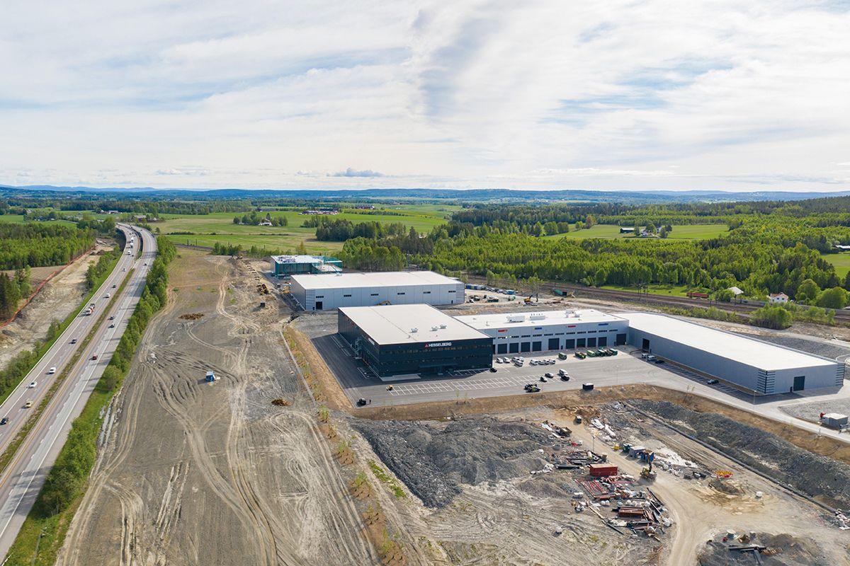 På Lindeberg i Lillestrøm kommune har Bulk Industrial Real Estate 250 mål som bygges ut for industribedrifter. Foto: Bulk Infrastructure AS