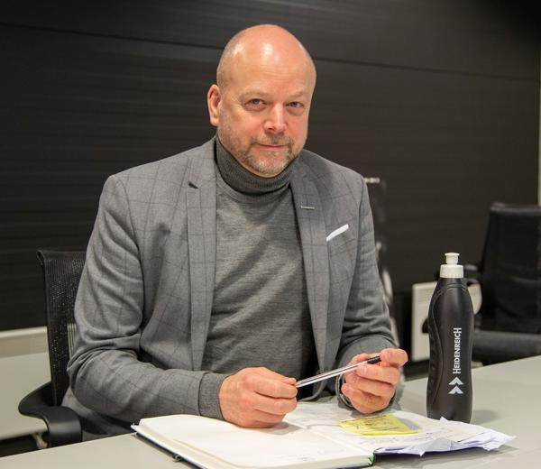 Kjetil Grønbakken. Foto: Heidenreich