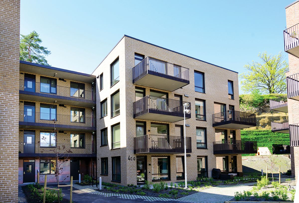 Haslum Elvepark i Bærum, 21.5.2021. Foto: Trond Joelson, Byggeindustrien