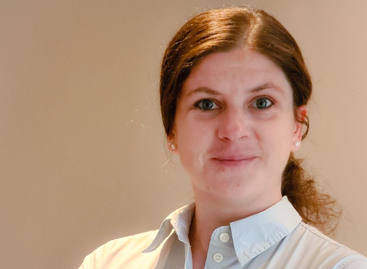 Alexandra Klimek skal blant annet jobbe med digitalisering i SINTEF. Foto: Privat