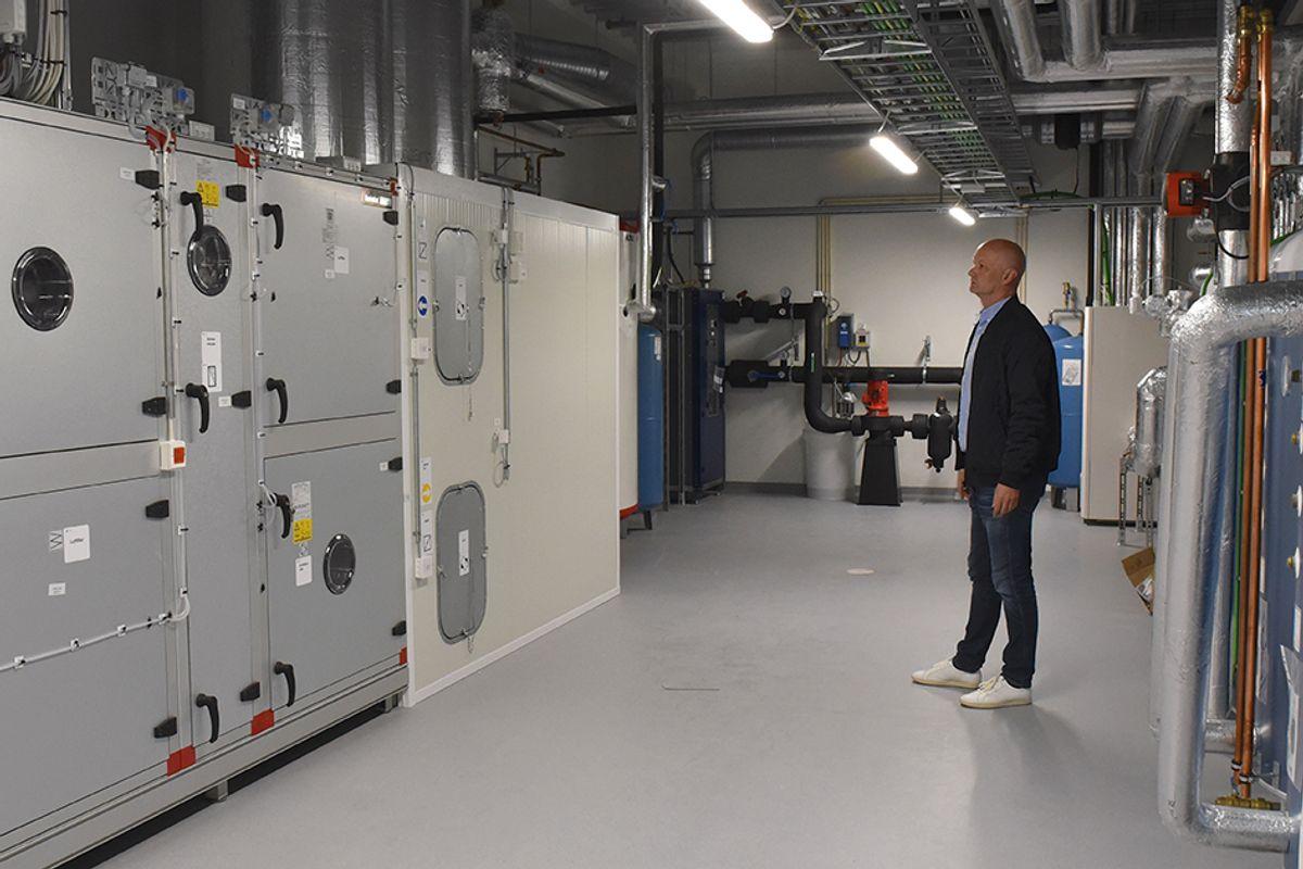 Jærentreprenørs prosjektleder Espen Woldstad mener ett av suksesskriteriene ved prosjektet var at de slapp en hektisk innspurt. Teknisk rom var blant elementene som var tidlig ferdig.