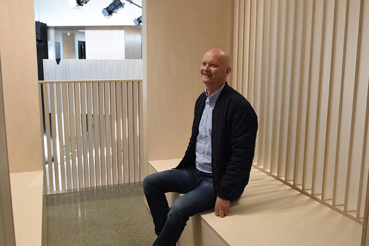 Jærentreprenørs prosjektleder Espen Woldstad