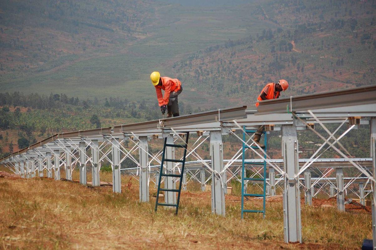Fra Rwanda i Øst-Afrika. Foto: Scatec Solar