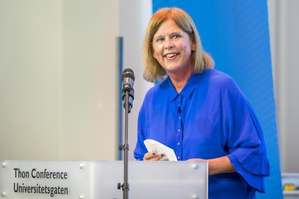 Camilla Wilhelmsen og Frp mener at Lan Marie Berg (MDG) bør gå av som miljøbyråd i Oslo. Foto: Heiko Junge / NTB