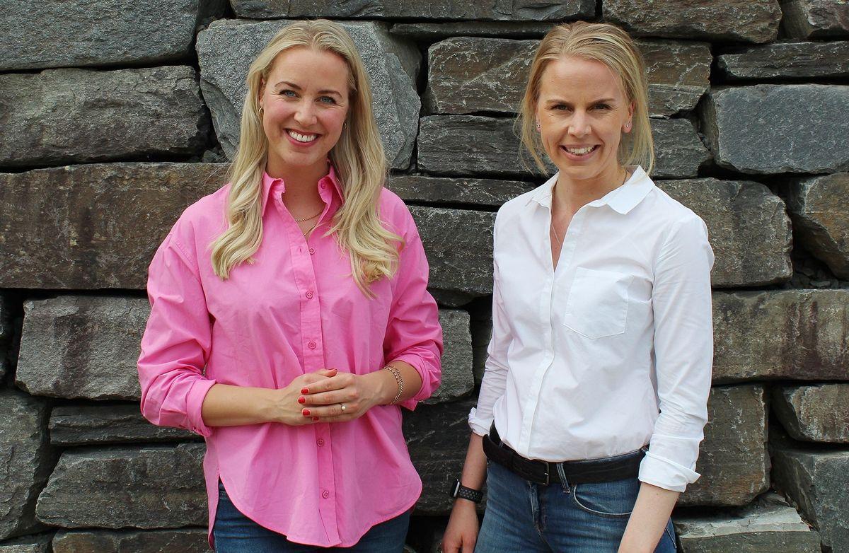Gina Marie Qvale (t.v.) og Kirsten Syvertsen.