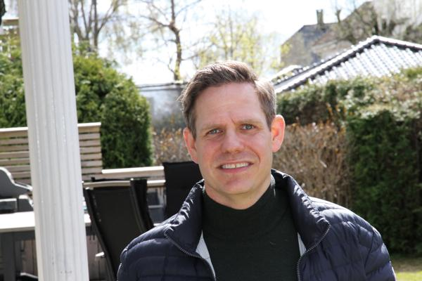 Thomas Astrup, administrerende direktør i Cramo. Foto: Truls Tunmo