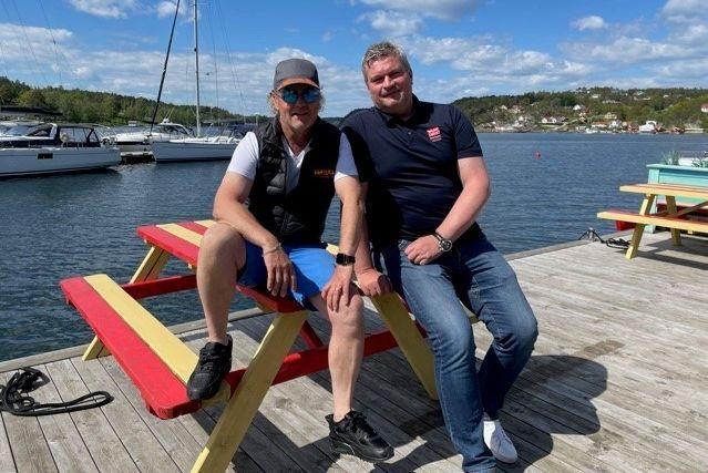 Atle Staff og Lars Johannessen.