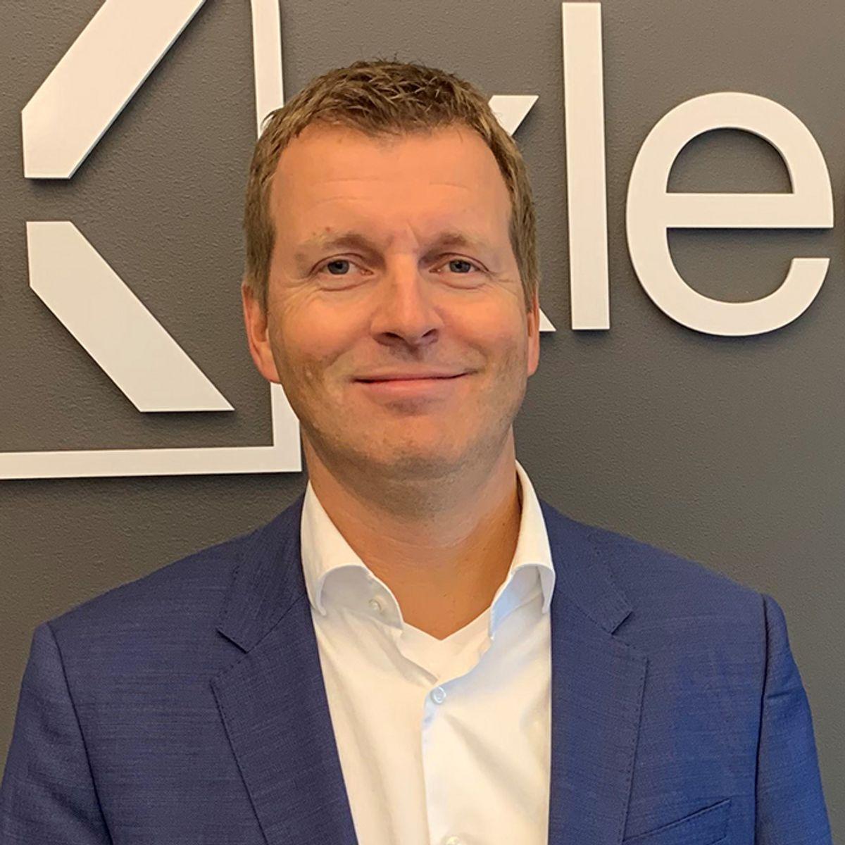 Ove Jørgen Carlsen, administrerende direktør i Xledger.
