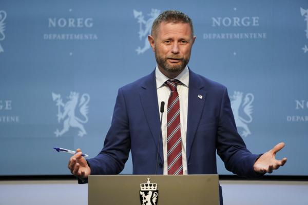 Helseminister Bent Høie (H). Foto: Gorm Kallestad / NTB