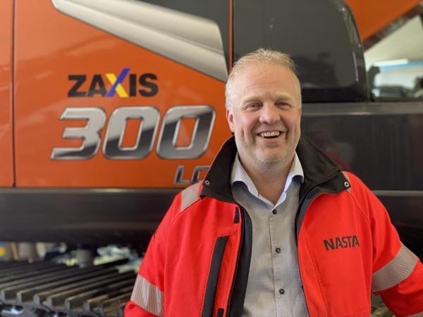 Morten Haraldsen er ny Nasta-selger i Hedmark. Foto: Nasta.