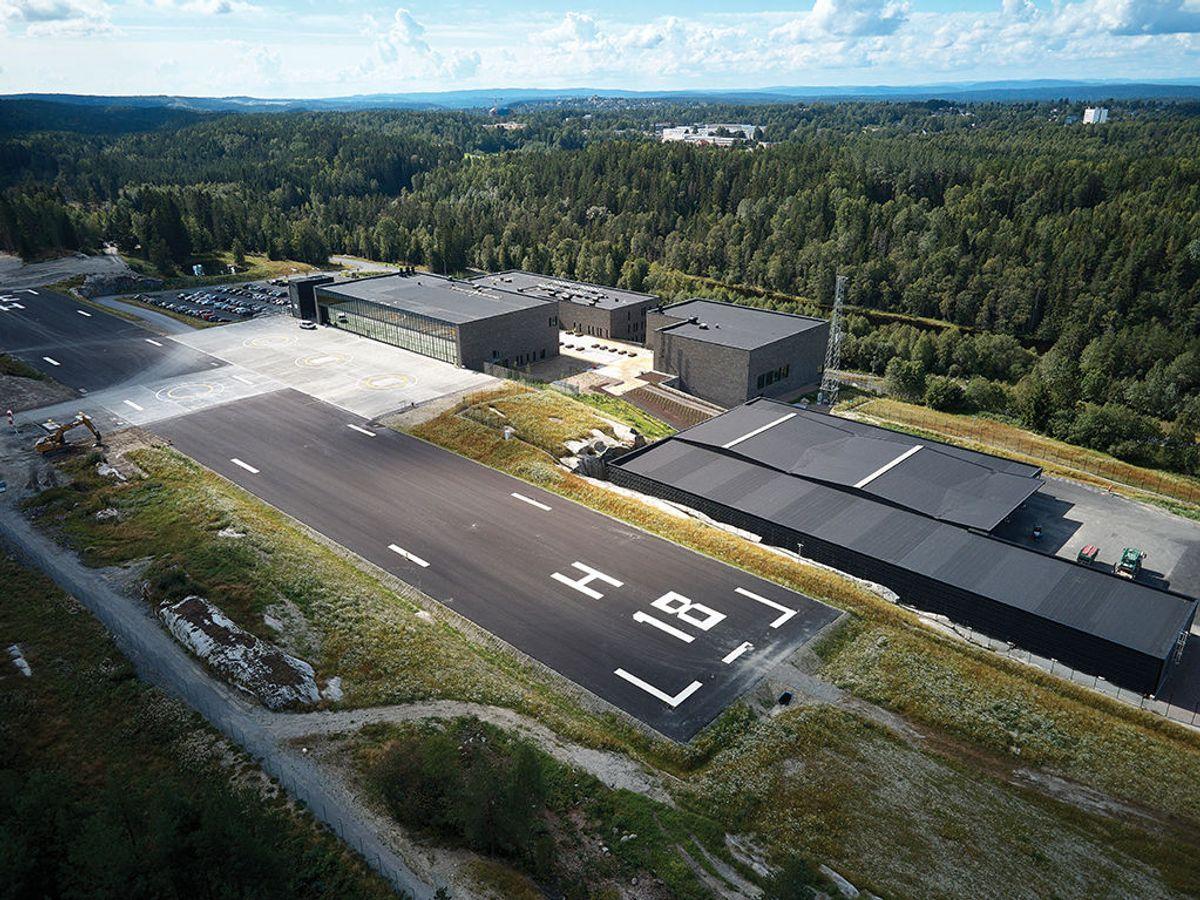 Politiets nasjonale beredskapssenter. Foto: Nordic – Office of Architecture, Knut Ramstad